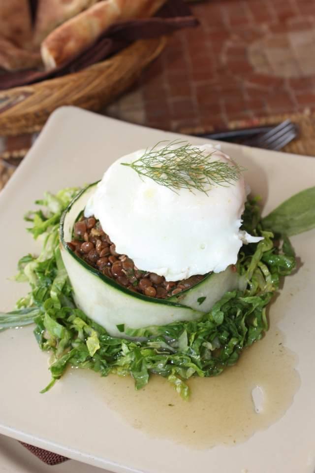 Atlas Kasbah Agadir - Salade de lentilles - Photo : www.epicuriendusud.com