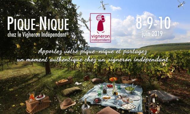 Pique-Nique chez le Vigneron Indépendant !