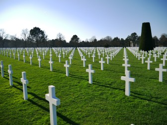 Normandy - American Cemetery at Omaha Beach (14)