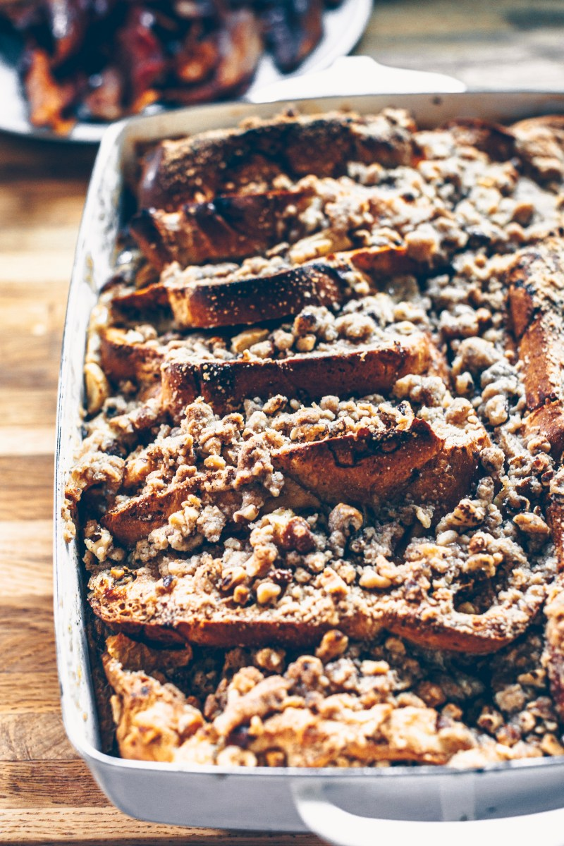Warm french toast right out of the oven