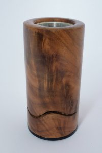 Split Walnut Log Vape