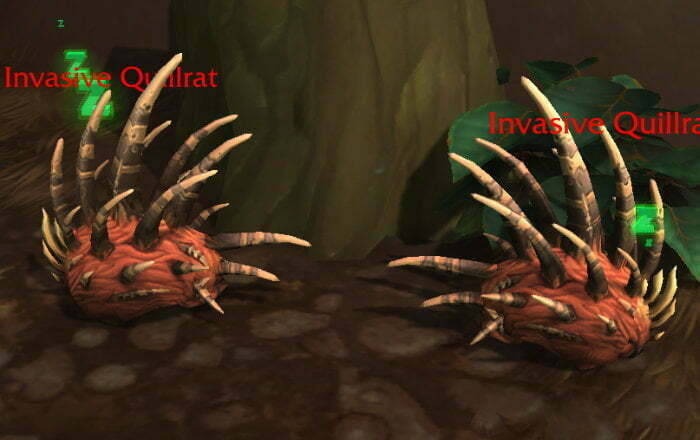 Meaty Haunch Farm Spot 1 - Drustvar - Invasive Quillrat