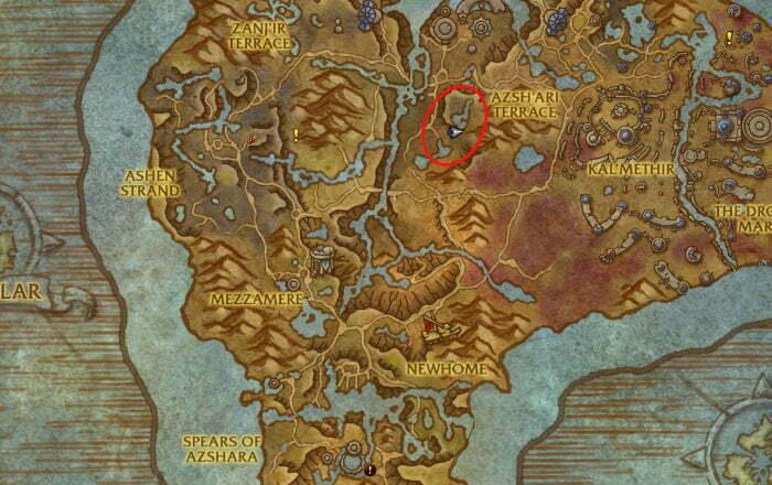 Gilded Seaweave Farm 1 - Naztajar Map