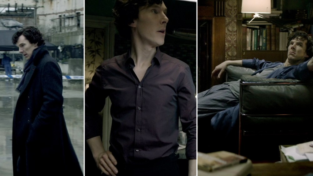 Days 111-113: All My Love to the Wardrobe Department of SHERLOCK (3/6)