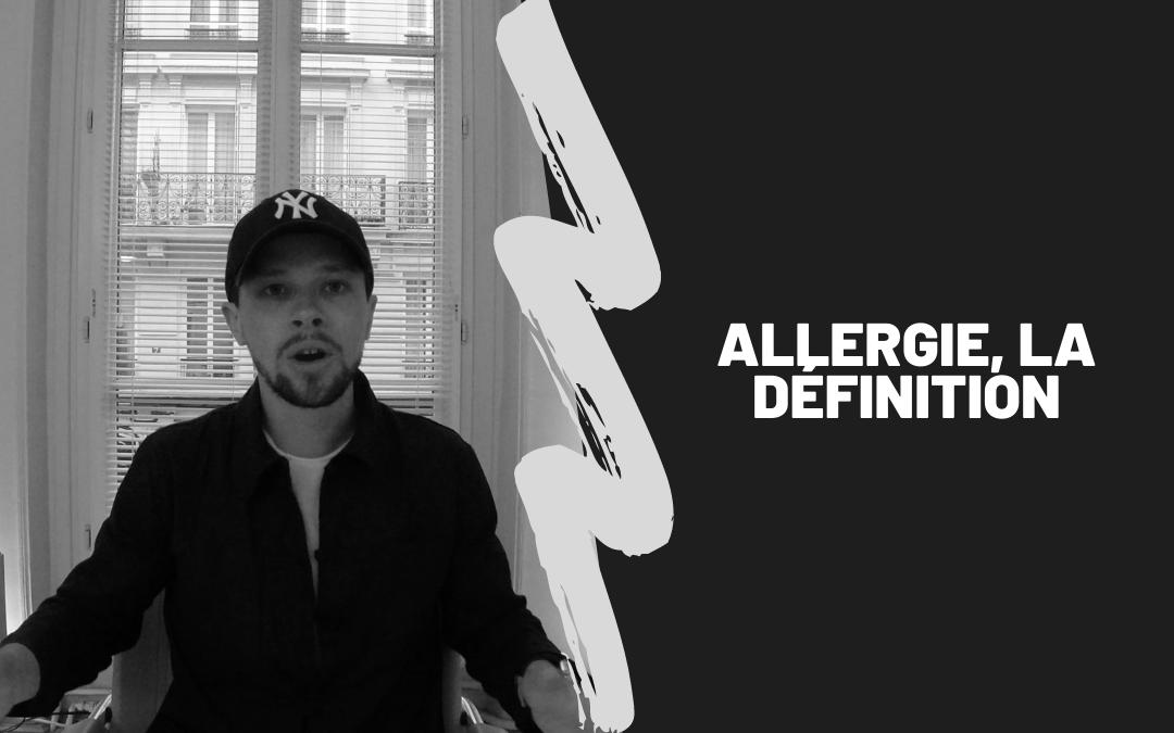 Allergie, La Définition