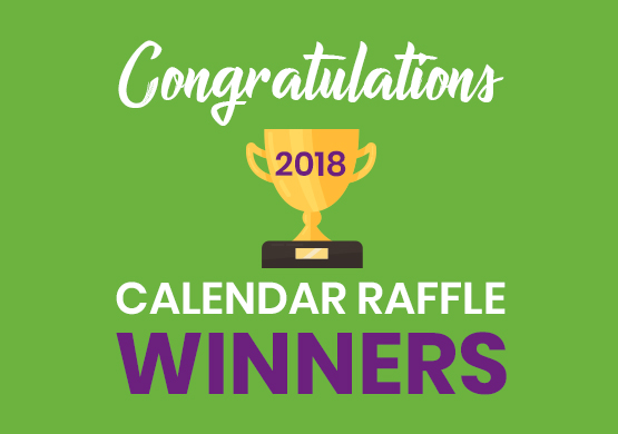 Calendar Raffle Winners