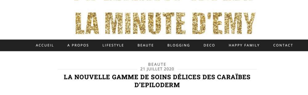 ARTICLE LA MINUTE DEMY