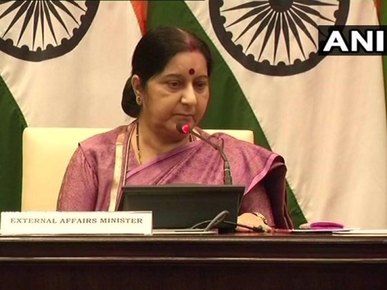 Ethiopian airlines crash: Sushma Swaraj seeks help on