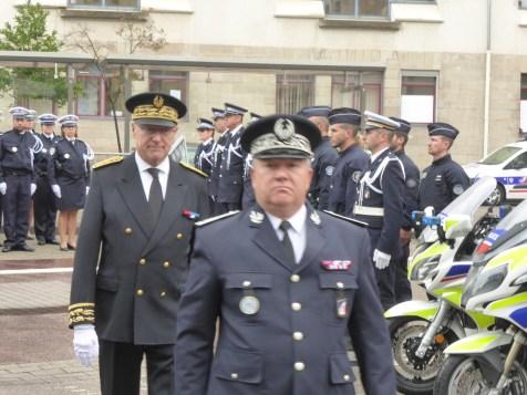 installation du commissaire divisionnaire Antoine Bonillo (57)