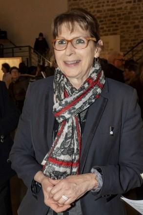 Annick Grillot, présidente de la line en parachute