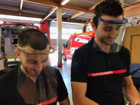 photos sapeurs-pompiers des Vosges