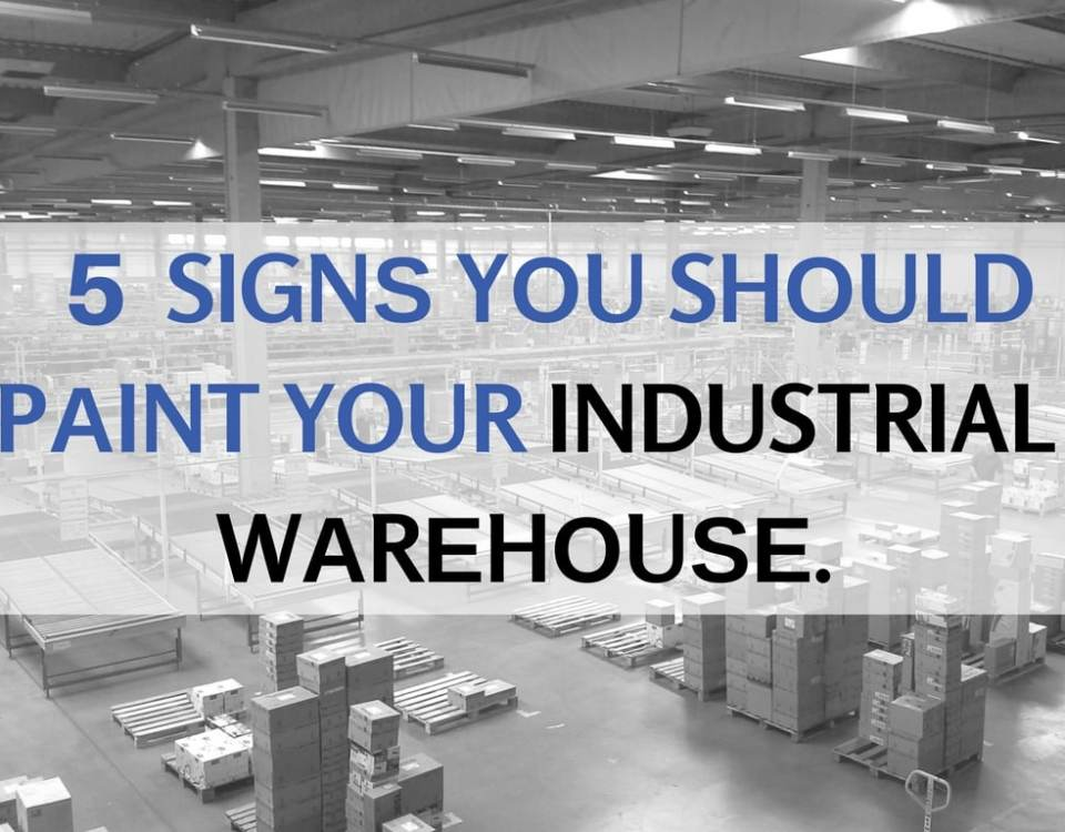 SIGNЅ YОU SHОULD PАINT YOUR INDUSTRIAL WАRЕHОUЅЕ.(1)