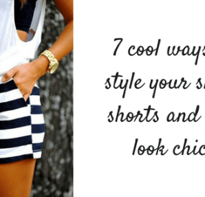 cool ways to style short shorts
