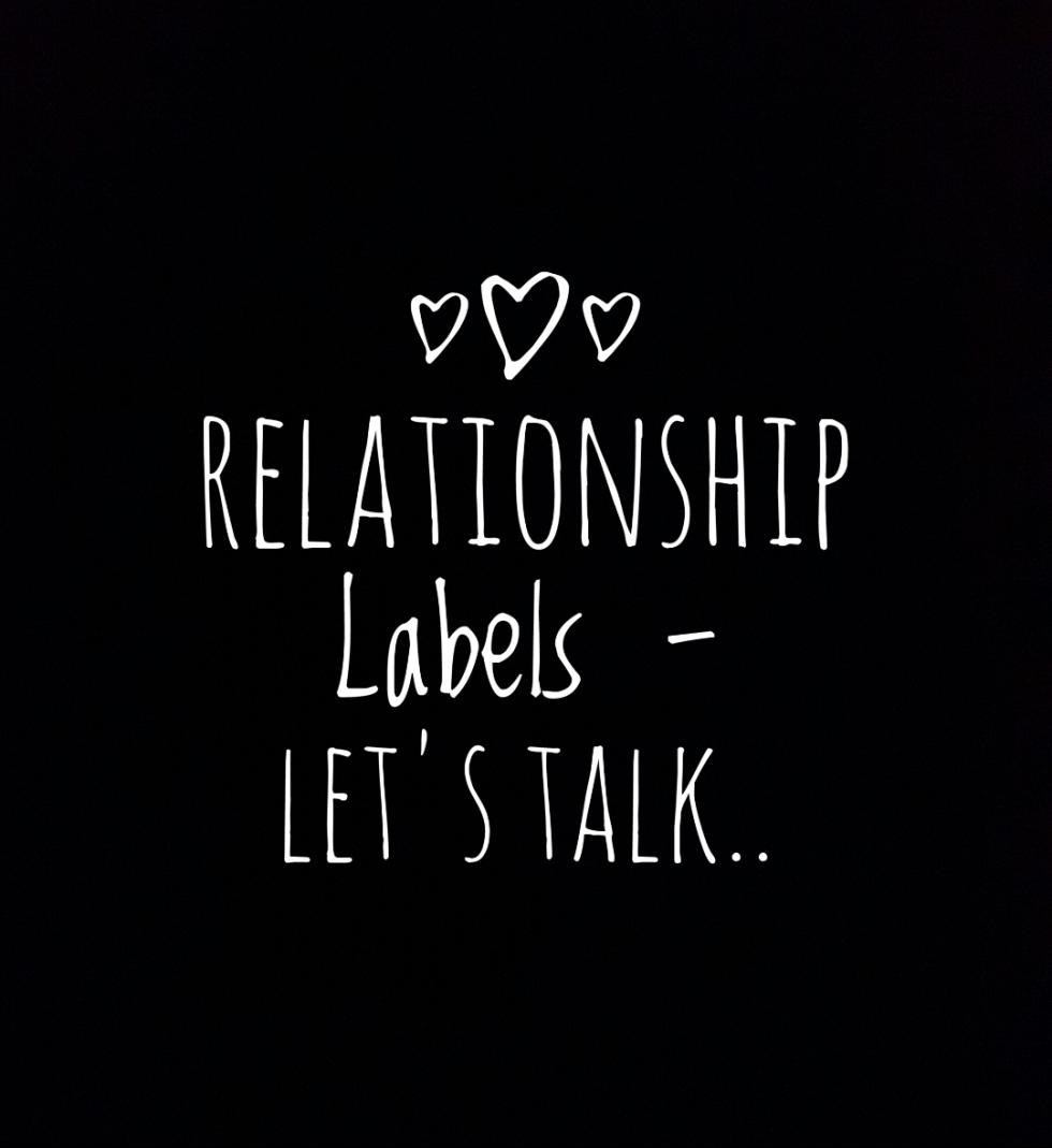 Relationship labels