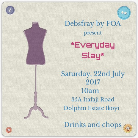 Debsfray 'Everyday Slay' Themed Party