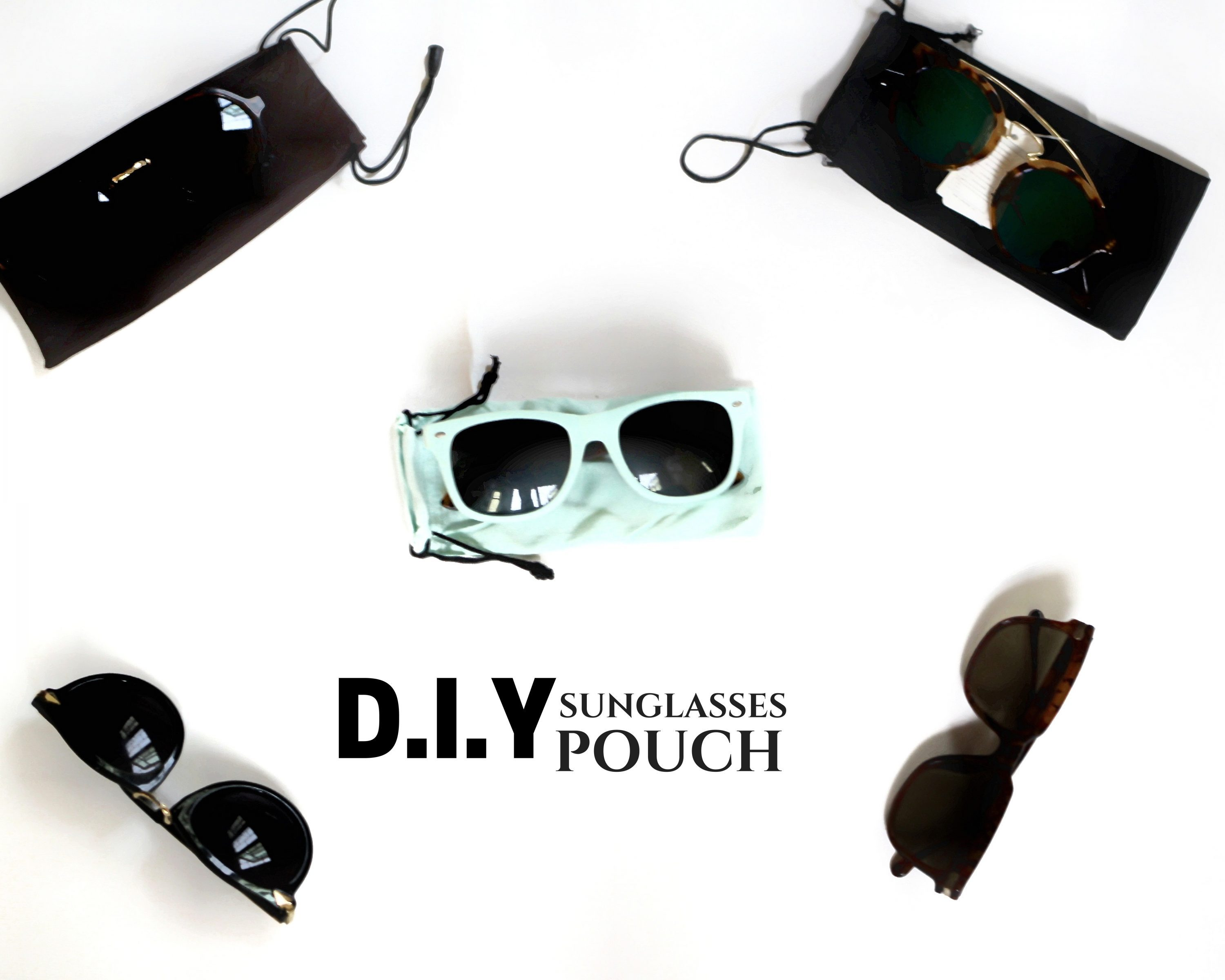 DIY Sunglasses Pouch