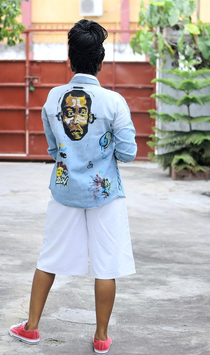 Denim Jacket + Creativity = Wearable Art