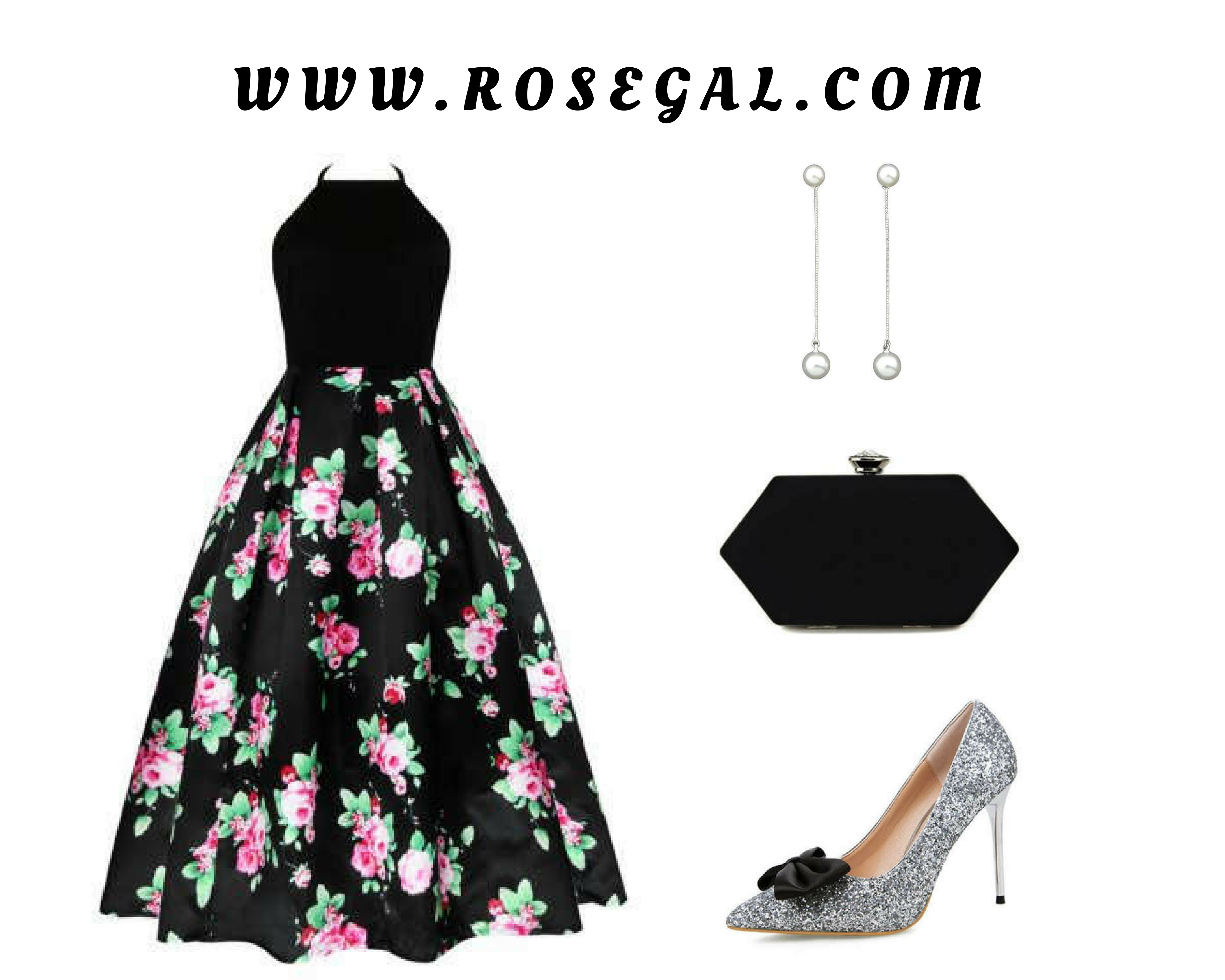 Floral Print Long Dress – Www.rosegal.com
