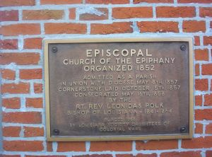 Episcopal Church of the Epiphany Organized in 1852