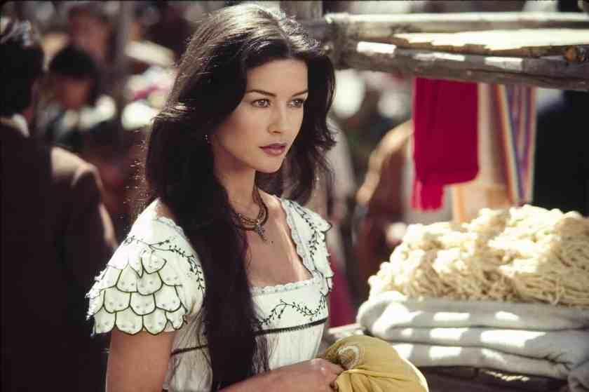 Catherine Zeta-Jones in Zorro (Reproduction)