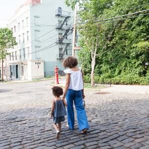30代 ママ ファッション コーデは子供と一緒に