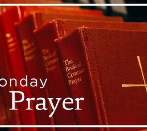 Image of common books of prayer with Noonday Prayer as title