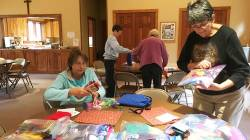 """Days for Girls"" Kits for Haiti: St. Bart's in Estes Park in Action!"