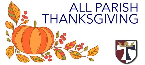all parish thanksgiving 2018