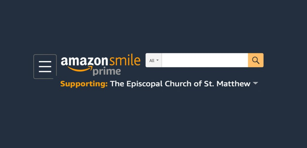 Support St. Matthew's on AmazonSmile