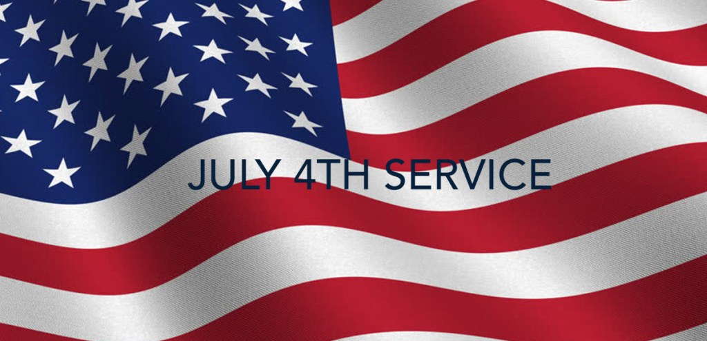 July 4th Service with San Mateo Mayor