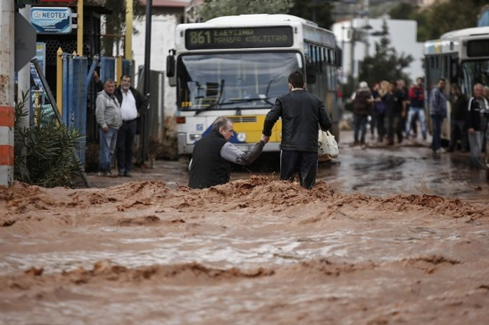 Mesaj de compasiune după inundațiile din Grecia