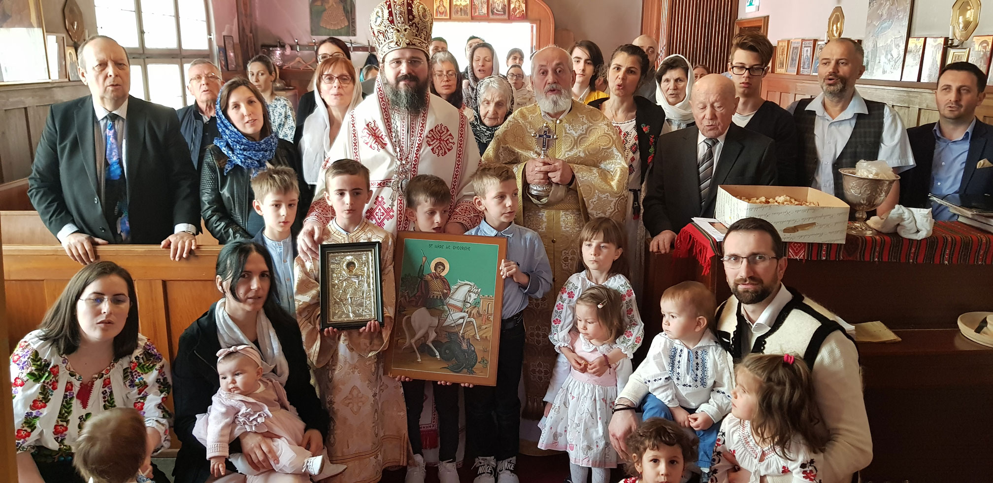 """His Grace Bishop Macarie: """"The burning of the heart for Christ is the thing that is needed to gain the better part of the joy of the Resurrection"""""""