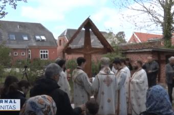 Biserica parohiei românești din Esbjerg și-a cinstit ocrotitorul (video)
