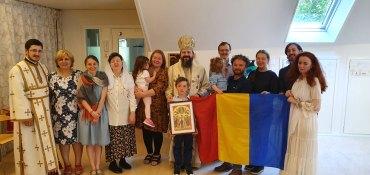 De Praznicul Înălțării Domnului, Preasfințitul Părinte Episcop Macarie i-a pomenit pe eroii neamului în Insula Gotland din Marea Baltică
