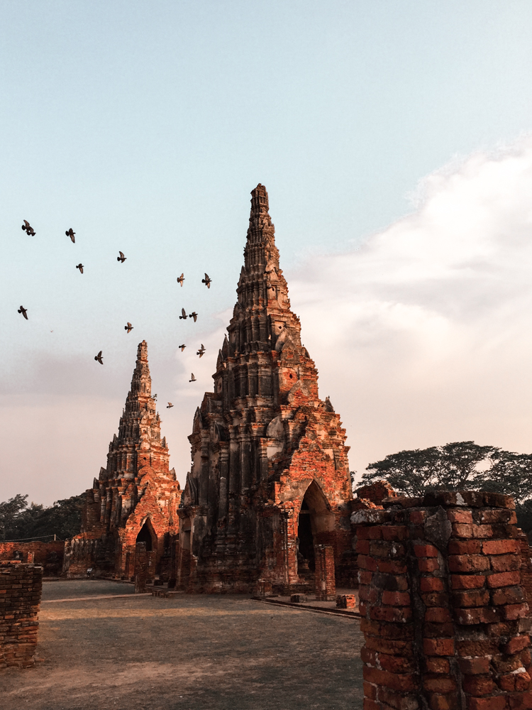 Ayutthaya Ruins ancient city