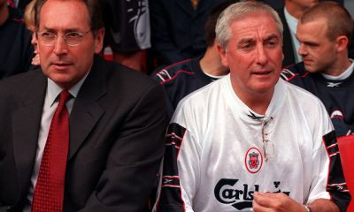 Roy Evans and Gerard Houllier