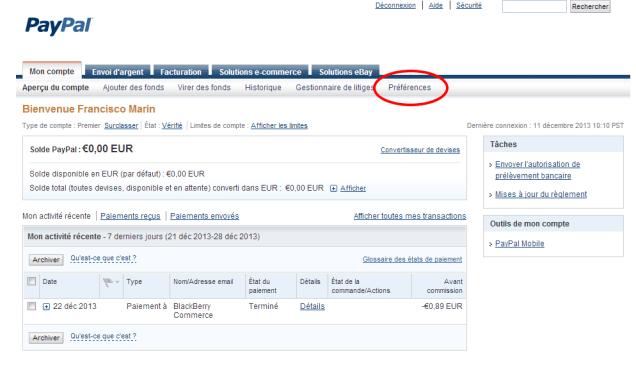 Paiements préapprouves   PayPal 1