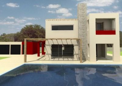 Διώροφη εξοχική κατοικία – Κεφαλονιά