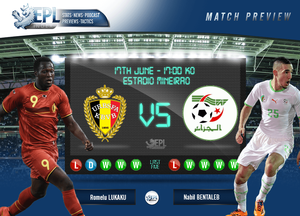 Belgium Vs Algeria Preview FIFA World Cup 2014 Group H