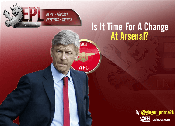 Is It Time For A Change At Arsenal