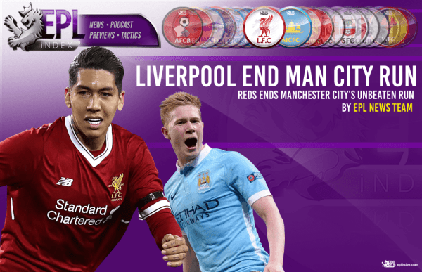 Liverpool Ends Manchester City's Unbeaten Run in the ...