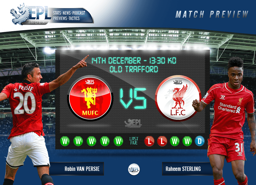 Manchester United Vs Liverpool Preview Team News Key Men And Stats Epl Index Unofficial English Premier League Opinion Stats Podcasts