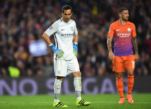 Claudi bravo vs Barcelona