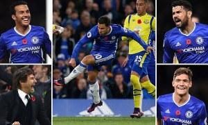 Chelsea 5 Everton 0