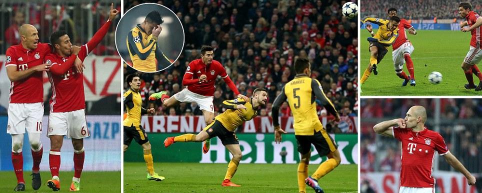 Bayern 5 Arsenal 1
