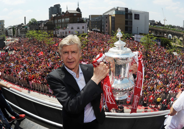wenger fa cup