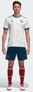 Russia World Cup 2018 Away Kit