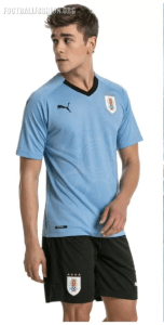 Uruguay World Cup 2018 Home Kit