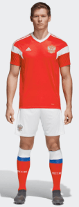 Russia World Cup 2018 Home Kit