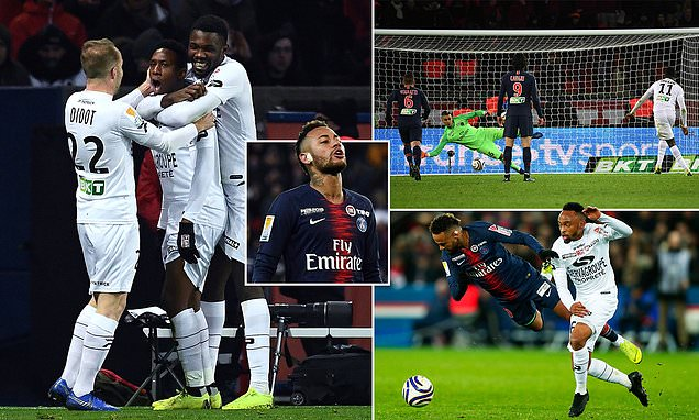 PSG eliminated guingamp